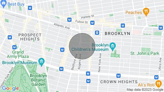 Large, Beautiful, Spacious, Sun Filled & Cozy 1.5 Br Apt Map