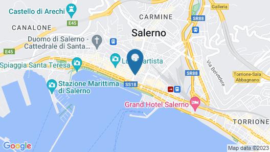 Hotel Montestella Map