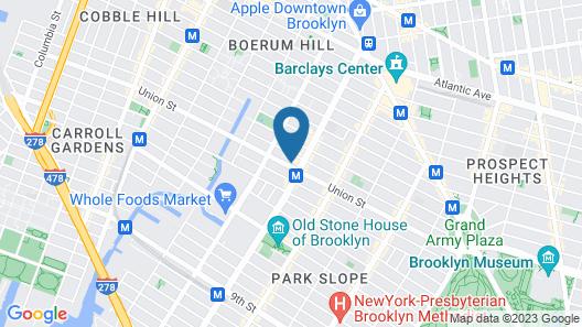 Gowanus Inn & Yard Map