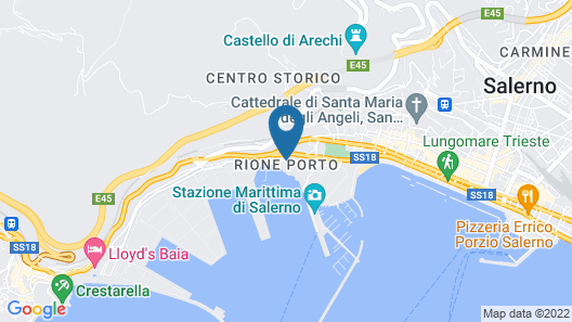 Yacht Suite Salerno Map