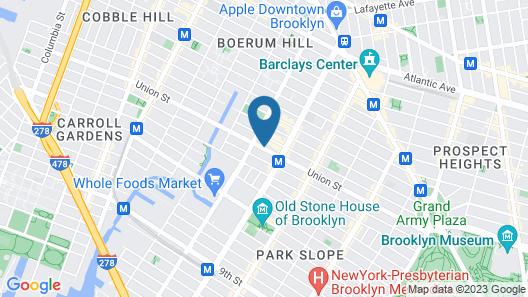 Holiday Inn Express Brooklyn, an IHG Hotel Map