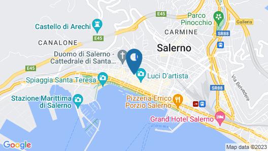 Casa Normanna Map