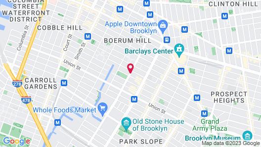 Fairfield Inn & Suites by Marriott New York Brooklyn Map