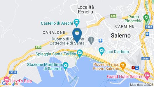 Palazzo Conforti B&B Map