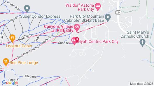 Canyon Base Condos by Lespri Map