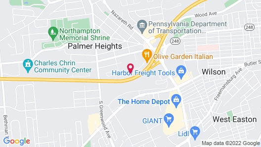 Holiday Inn Express Hotel & Suites Easton, an IHG Hotel Map