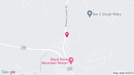 Luxe Black Rock Ridge New-build Mountain Views 4 Bedroom Townhouse Map