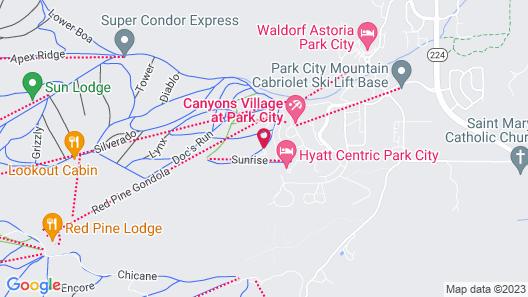 Apex S 4 Bedroom Penthouse, Unit #302 Townhouse Map
