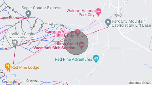 Sundial Lodge 316a Pavilion C by Vacasa Map