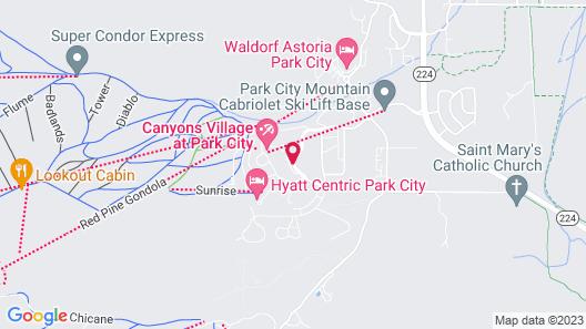 Hyatt Centric Park City Map