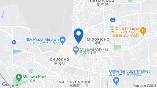 Misawa Princess Hotel Map