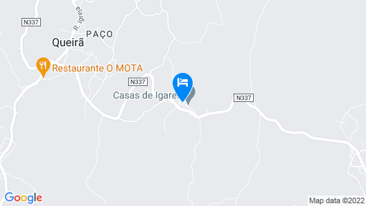 Casa de Igarei Map