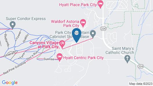 Sundial Lodge, Park City - Canyons Village Map