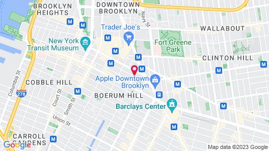 EVEN Hotel Brooklyn, an IHG Hotel Map