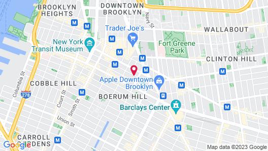 Holiday Inn Brooklyn Downtown, an IHG Hotel Map