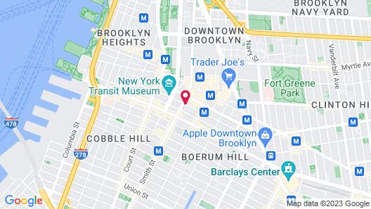 Hilton Brooklyn New York Map