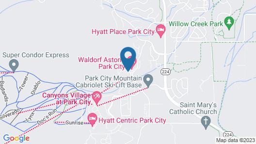 Club Wyndham Park City Map