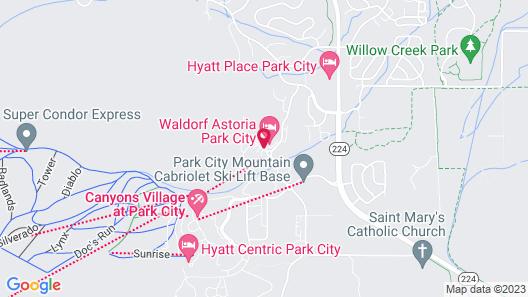 Waldorf Astoria Park City Map