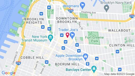 Sheraton Brooklyn New York Hotel Map