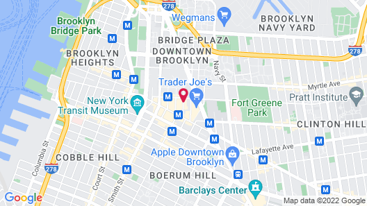Aloft New York Brooklyn Map