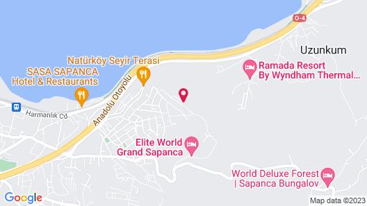 Sapanca Paradise Map
