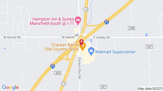 La Quinta Inn & Suites by Wyndham Mansfield OH Map