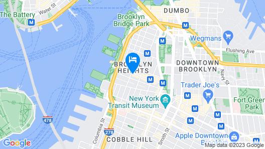 Hotel Bossert Map