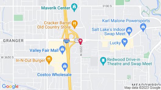 Best Western West Valley Inn Map