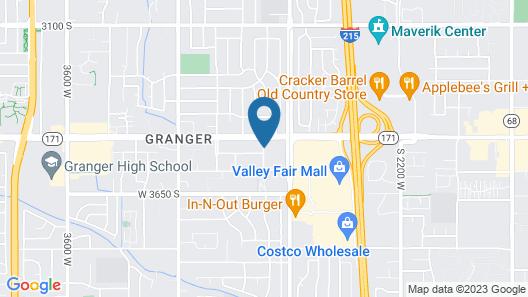 Embassy Suites Salt Lake/West Valley City Map