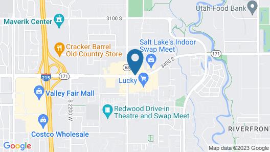 WoodSpring Suites Salt Lake City Map