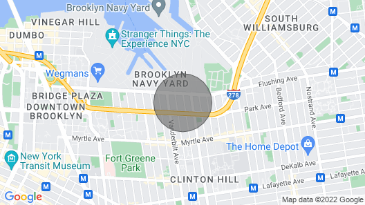 Stunning 5 BR Monthly Town House In NYC Map