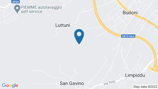 Hotel Pedra Ruja Map