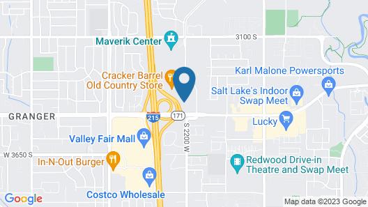 Sleep Inn West Valley City - Salt Lake City South Map