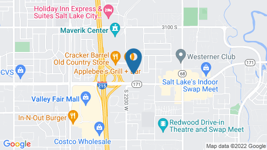 Country Inn & Suites by Radisson, West Valley City, UT Map