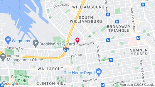 Pointe Plaza Hotel Map