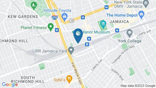Airport Plaza Hotel JFK Airport Map