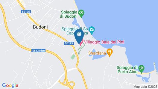 Valtur Sardegna Baia Dei Pini Resort Map