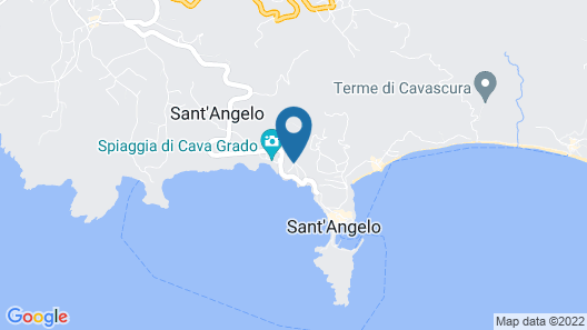 Casa Adolfo Ischia Map