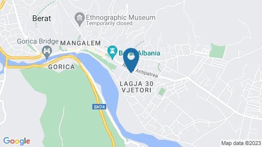 My Hostel in Berat Map