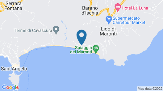 Hotel San Giorgio Terme Map