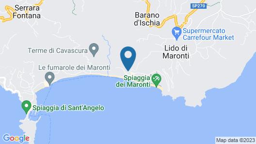 Hotel Vittorio Beach Resort Map