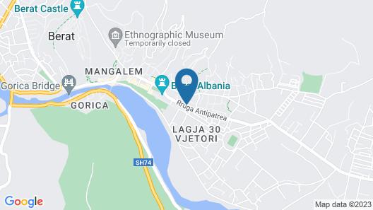 Hotel Gega Map
