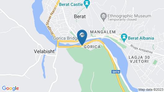 Villa 4 Bed & Breakfast Map