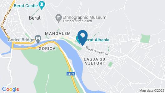 Tomorri Hotel Map
