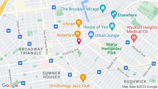 Bogart Hotel Map
