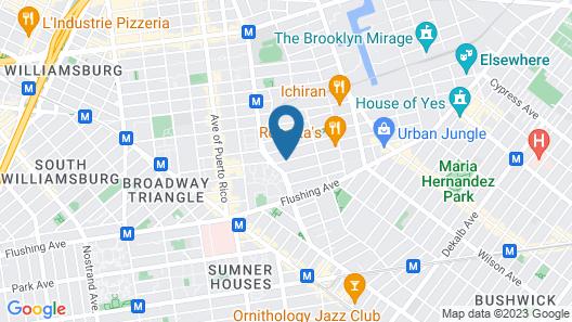 NY Moore Hostel Map