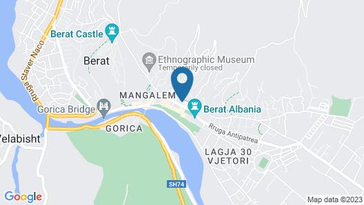 Hotel Berati Map