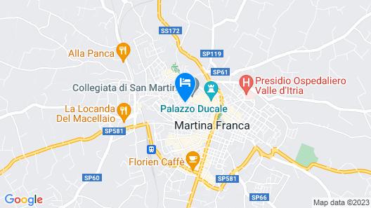 B&B Palazzo Giorgi Map