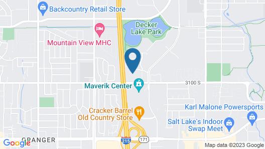 Staybridge Suites Salt Lake-West Valley City, an IHG Hotel Map