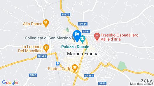 My Suite Puglia Map